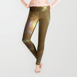 Reflection of a Whirpool of Paint Leggings