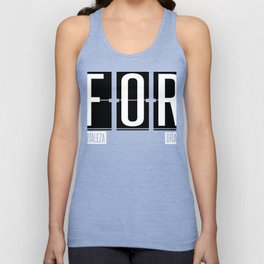 FOR - Pinto Martins – Fortaleza International Airport Code Gift or Souvenir Unisex Tank Top