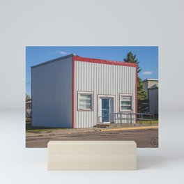 Post Office, Goodrich, North Dakota 2 Mini Art Print