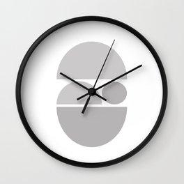 Zen - In The Womb Wall Clock