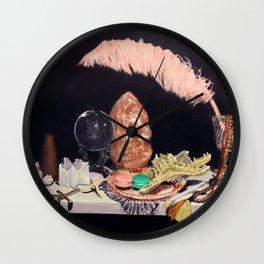 Rosé Brunch Wall Clock