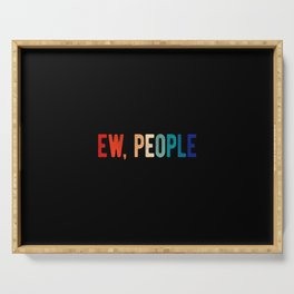 Ew People Serving Tray