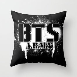 BTS - ARMY Throw Pillow