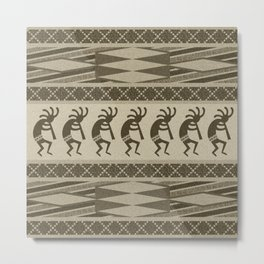 Southwest Kokopelli Metal Print