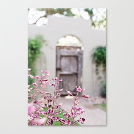 Hill Country Floral Canvas Print