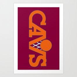 cavs Art Print
