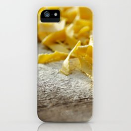 Fresh Italian Pasta iPhone Case