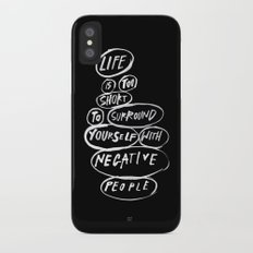 POSITIVE PEOPLE SURROUND SYSTEM Slim Case iPhone X