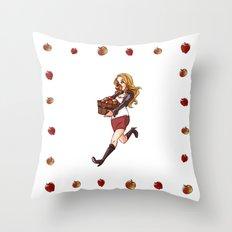apple thief Throw Pillow