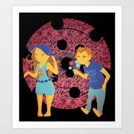 Young ones Art Print