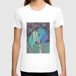 Spirit Tree Abstract T-shirt