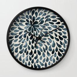 Abstract Petals Wall Clock