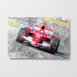 Michael Schumacher 2006 Metal Print