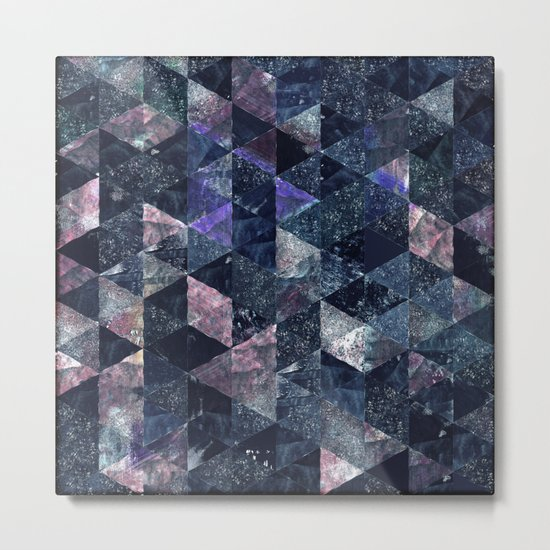 Abstract Geometric Background #11 Metal Print