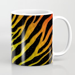 Ripped SpaceTime Stripes - Red/Yellow Coffee Mug