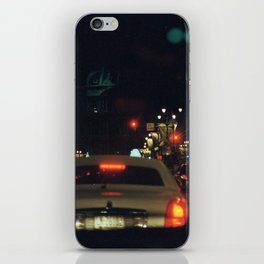 through the windshield iPhone Skin
