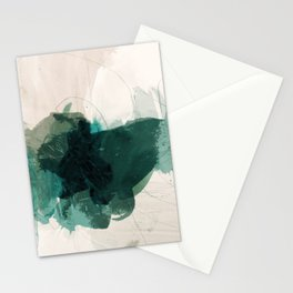 gestural abstraction 02 Stationery Cards