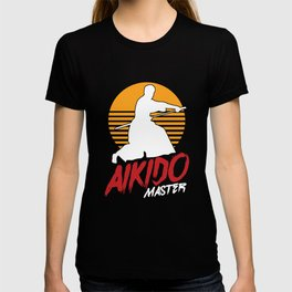 Karate Fighters Japanese Martial Arts Martial-Artist Kicking Aikido Master Judo Gift T-shirt