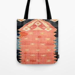 South West Anatolia  Antique Turkish Niche Kilim Print Tote Bag