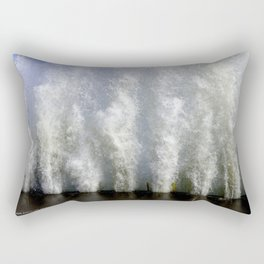 When Sandy Made Waves in Chicago #2 (Chicago Waves Collection) Rectangular Pillow