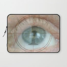Why Eye Am What IAm Laptop Sleeve