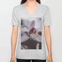 FOREST ORCHID Unisex V-Neck