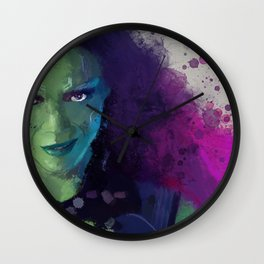 Gamora Wall Clock