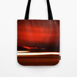 Overreal  - Now is the Time.  Album Cover Tote Bag