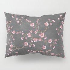 SAKURA LOVE - GRUNGE BLACK Pillow Sham