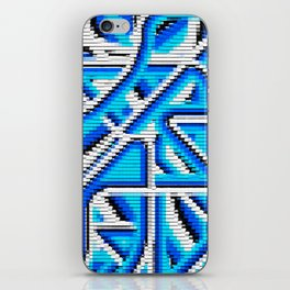 Patchwork iPhone Skin
