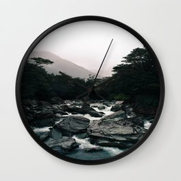 Routeburn River Wall Clock