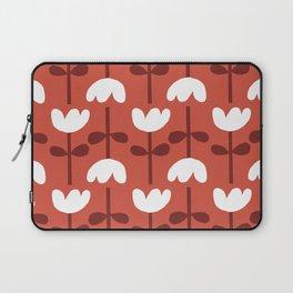 Retro Red Tulip Laptop Sleeve