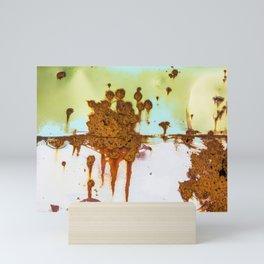 Rusting Panels Mini Art Print