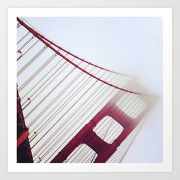 Day Fifty: It Had to be You! Golden Gate Bridge Art Print