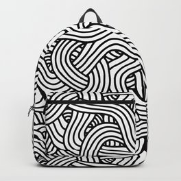 Overlapping Tangles Backpack