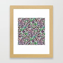 Monday 25 March 2013: when thoughts delimit attributes you see or infer Framed Art Print