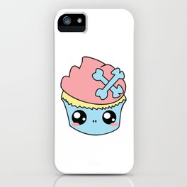 Cupcake Skull iPhone Case