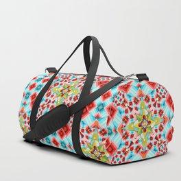 Tartan Starburst Duffle Bag