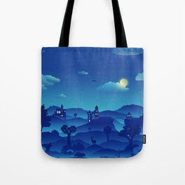 Fairytale Dreamscape Tote Bag