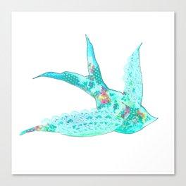 Lighter Blue Swallow Canvas Print