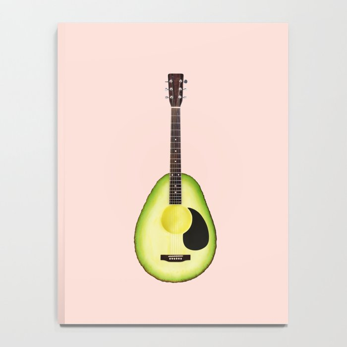 AVOCADO GUITAR Notebook