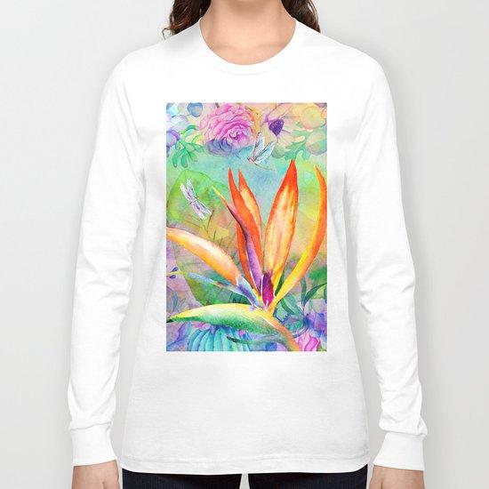 Bird of paradise i Long Sleeve T-shirt