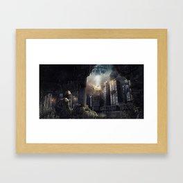 THE RAID Framed Art Print