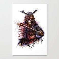 Dead Samurai Canvas Print