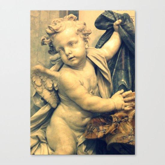 The Hallelujah Cherub. Canvas Print