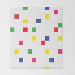 Blocks Set Throw Blanket
