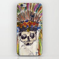 indiana jones iPhone & iPod Skins featuring Indiana jones till the end by MGNFQ