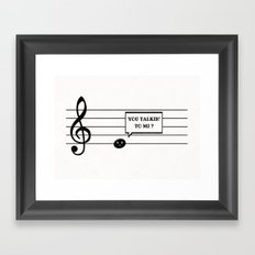 Don't Mess With Mi Framed Art Print