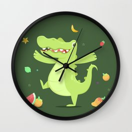 Alligator Wall Clock