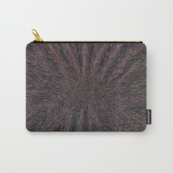 Abstract - Raven Flow. Carry-All Pouch